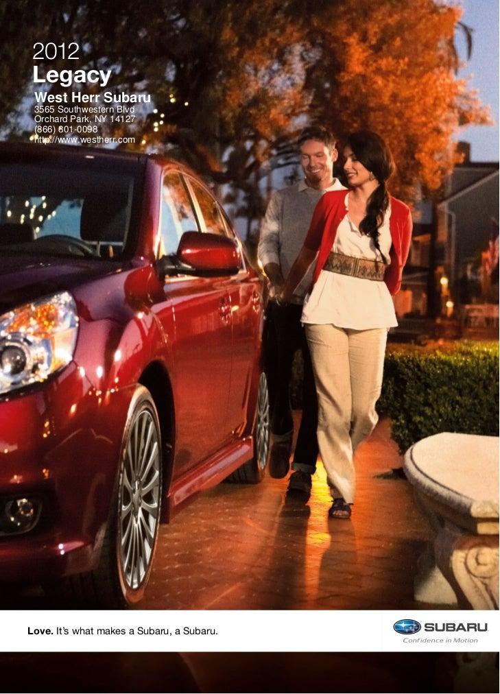 West Herr Subaru >> 2012 Subaru Legacy For Sale Ny Subaru Dealer Near Buffalo