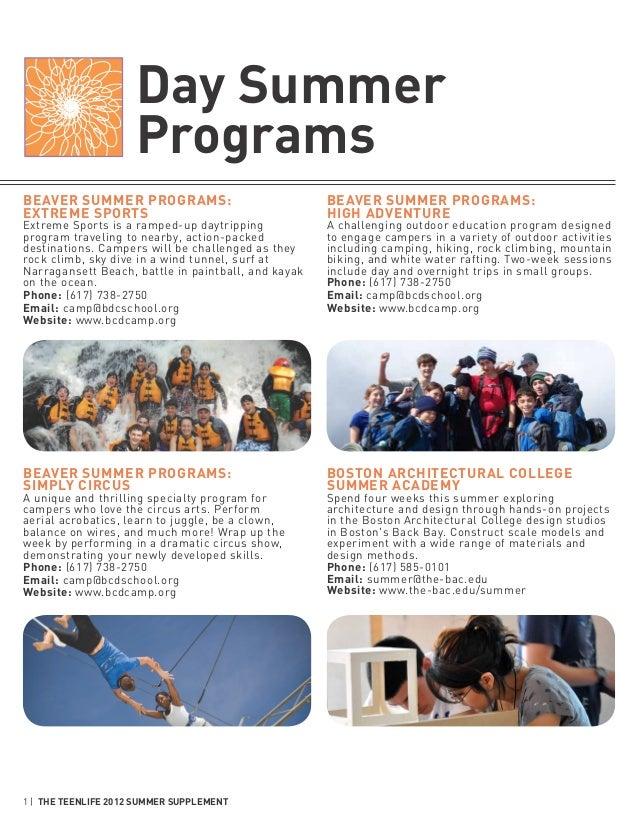 Day Summer                     ProgramsBeaver Summer Programs:                              Beaver Summer Programs:Extreme...