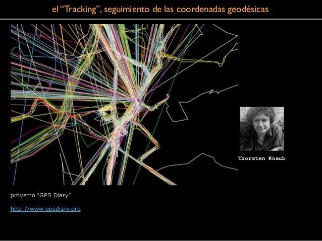 "el ""Tracking"", seguimiento de las coordenadas geodésicas proyecto ""GPS Diary"" ! http://www.gpsdiary.org Thorsten Knaub"