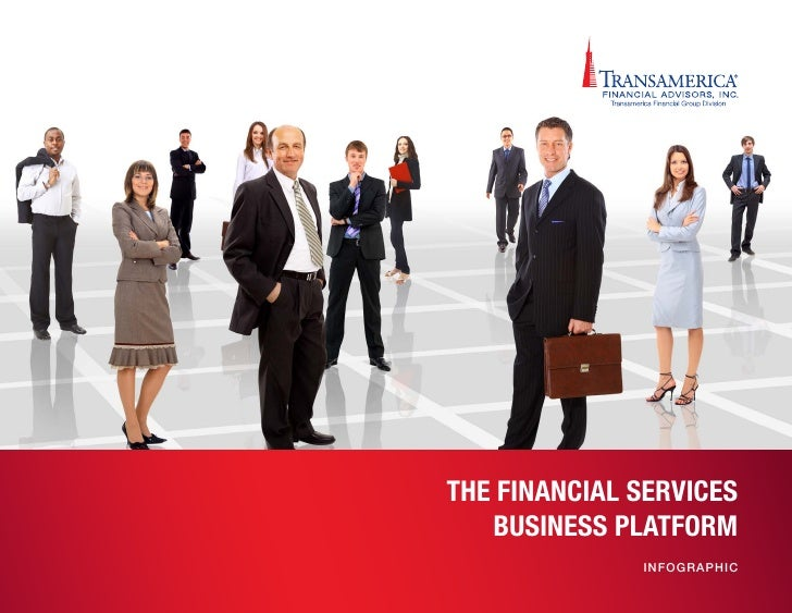 THE FINANCIAL SERVICES   BUSINESS PLATFORM              IN F O G R APH IC