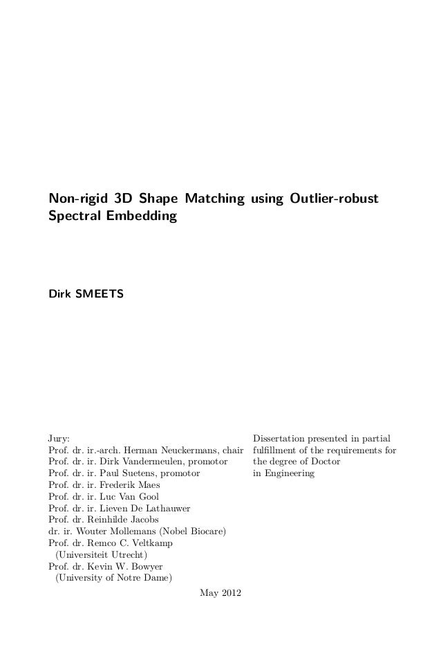Phd Thesis Dirk Smeets