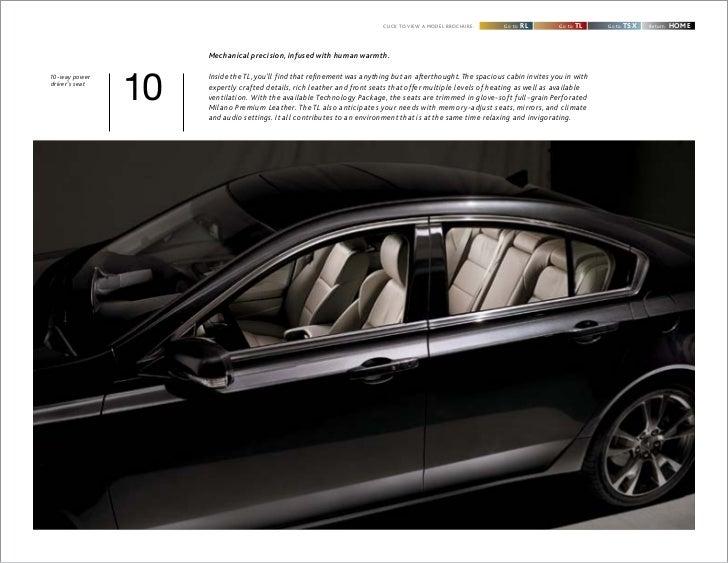 Neil Huffman Acura >> 2012 Acura TL brochure by Acura at Oxmoor Louisville KY