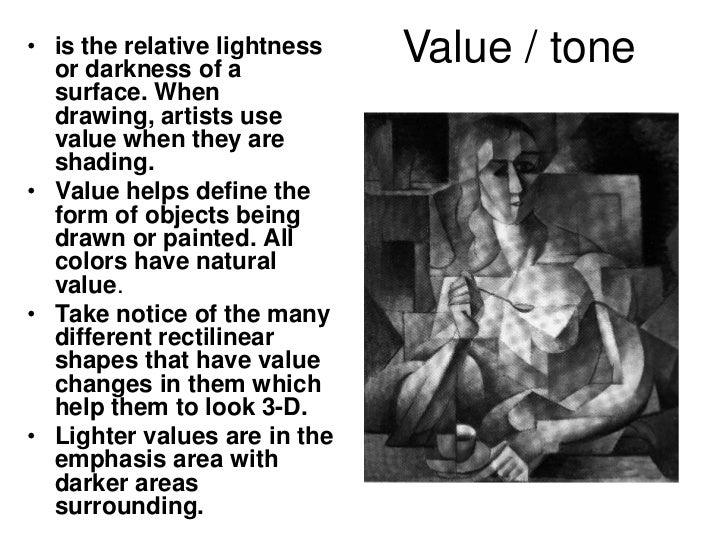 Tone - an element of Art & Design