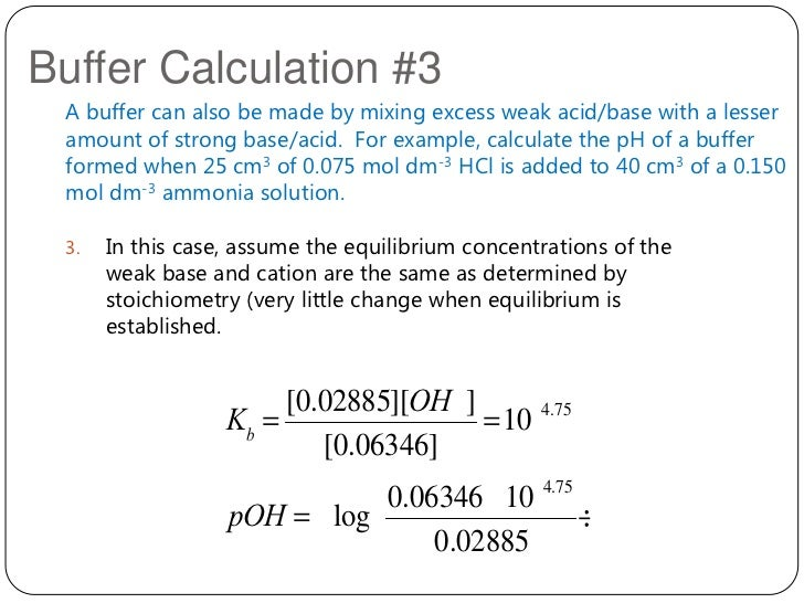 What is a buffer chemistry