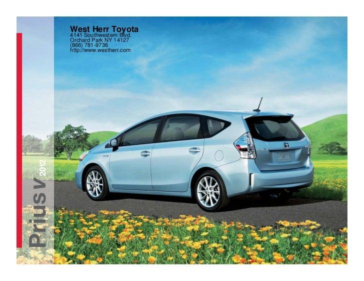West Herr Toyota >> 2012 Toyota Prius For Sale NY | Toyota Dealer Near Buffalo