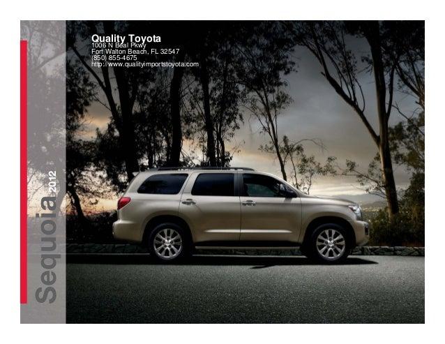 2012 Toyota Sequoia For Sale Fl Toyota Dealer Near Pensacola