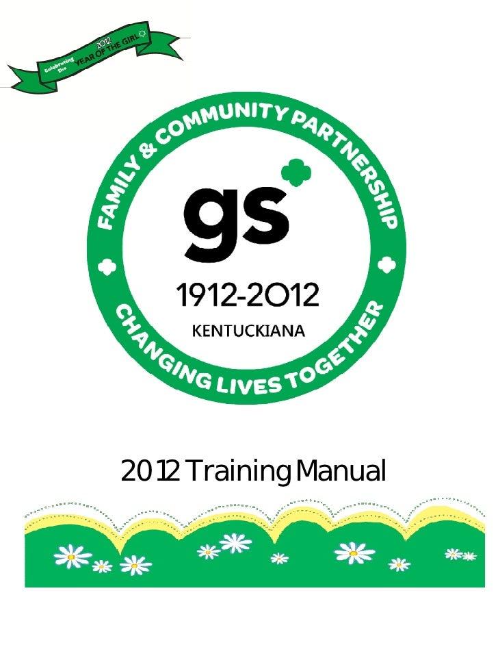 2012 Training Manual