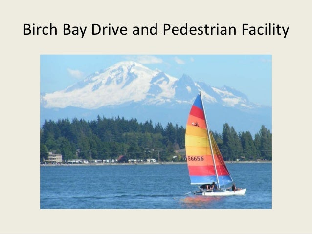 Birch Bay Drive and Pedestrian Facility