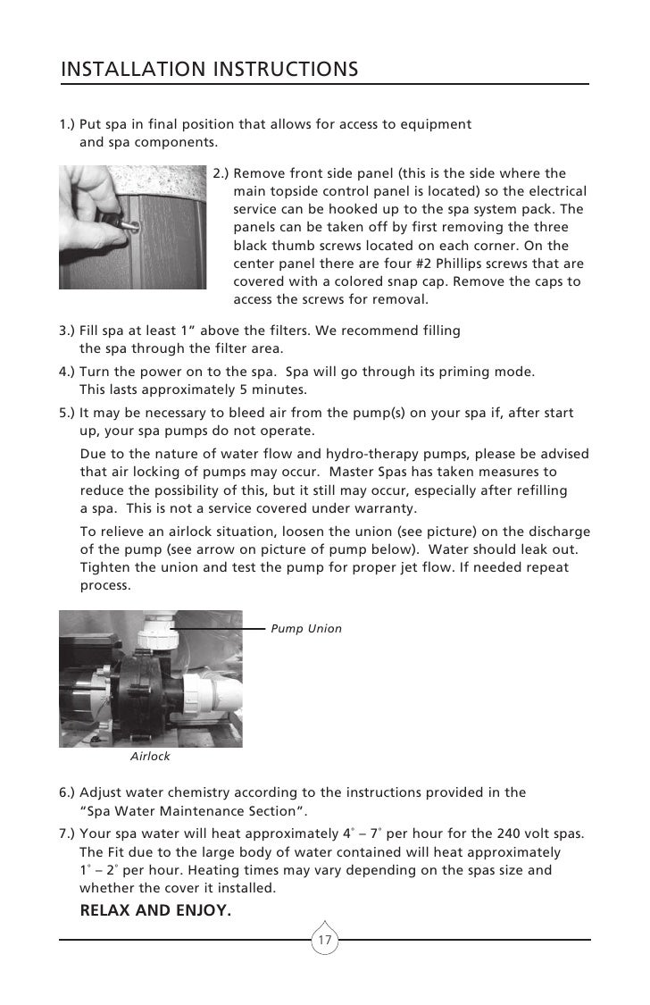 Spa Wiring Instructions Best Secret Diagram Sundance Cameo Clearwater Fuse Replacement Circulating Pump F5 Wonderwood Fan Universal Ignition Switch