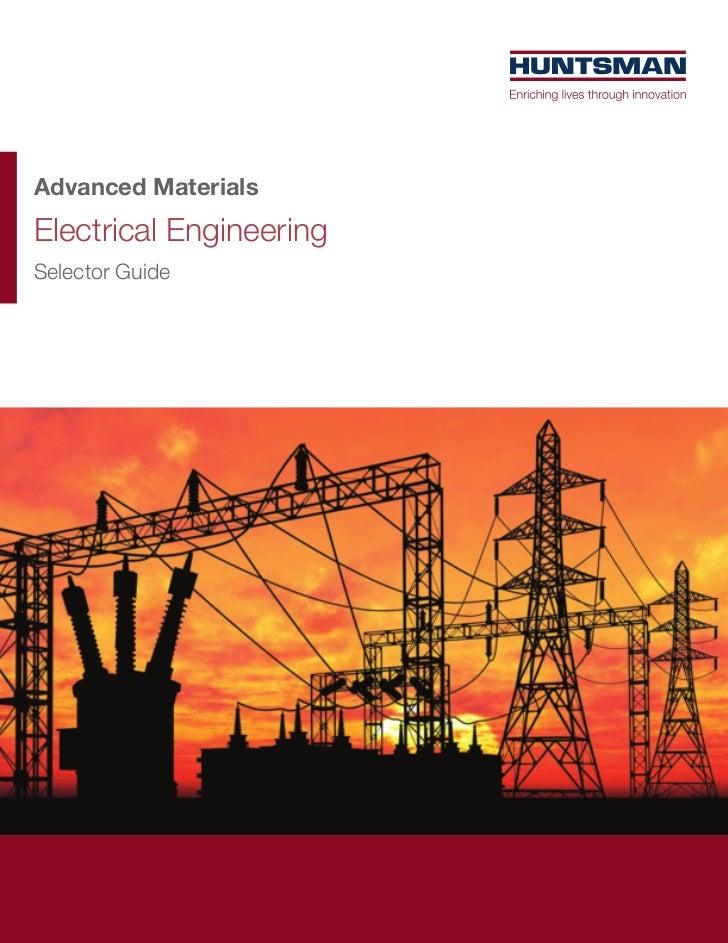 Advanced MaterialsElectrical EngineeringSelector Guide