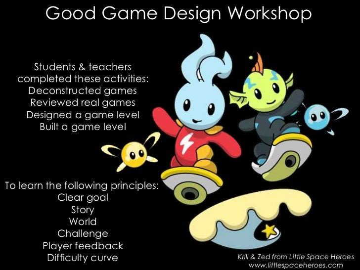 20+ Game Design Workshop JPG