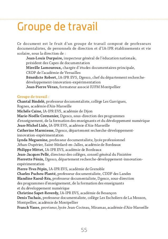 Dirction générale de l'enseignement scolaire Suivi éditorial et conception graphique : Délégation à la communication Exécu...