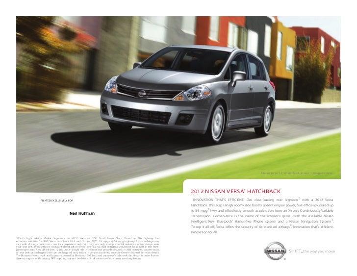 Neil Huffman Nissan >> 2012 Nissan Versa Hatchback Brochure By Neil Huffman Nissan Louisvill