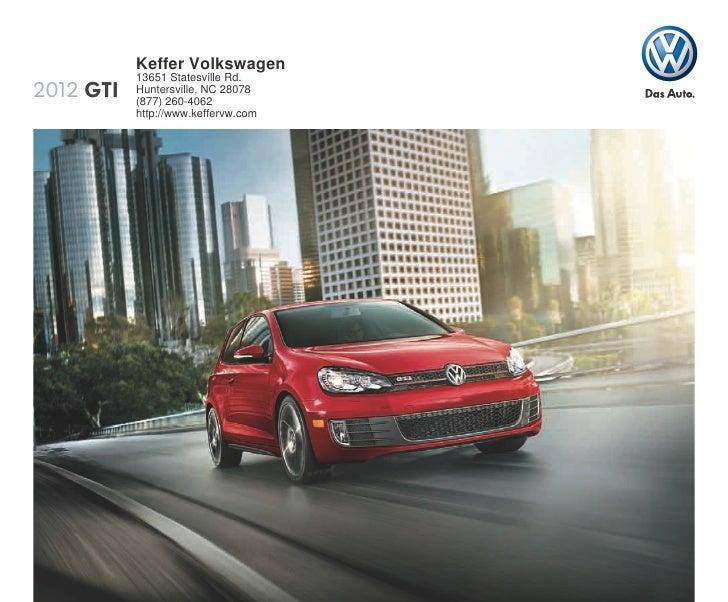 2012 Volkswagen Gti For Sale Nc Volkswagen Dealer Near