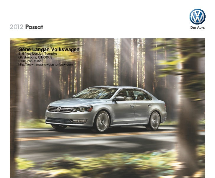 2012 Volkswagen Passat For Sale Ct Volkswagen Dealer