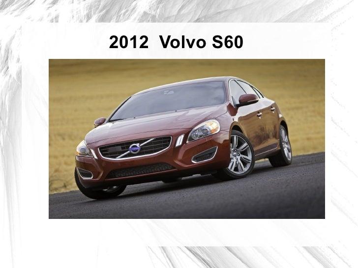 2012 Volvo S60