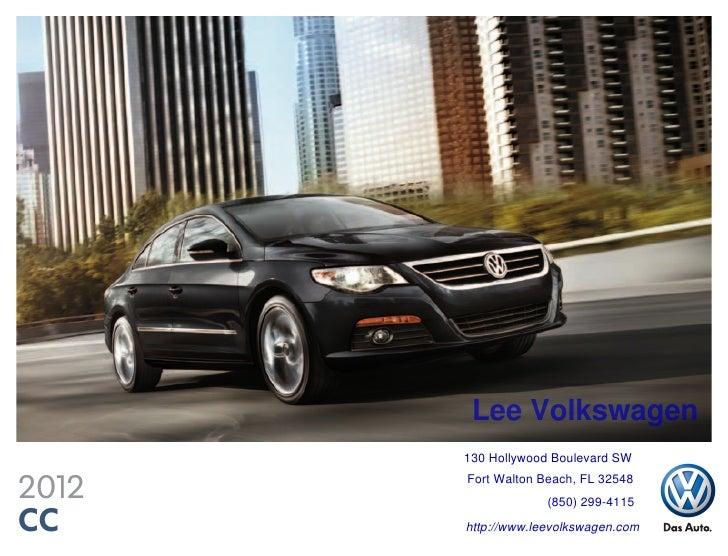 2012 Volkswagen Cc For Sale Fl Volkswagen Dealer Near