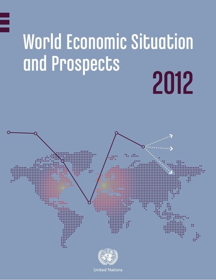 World Economic Situationand Prospects                  2012