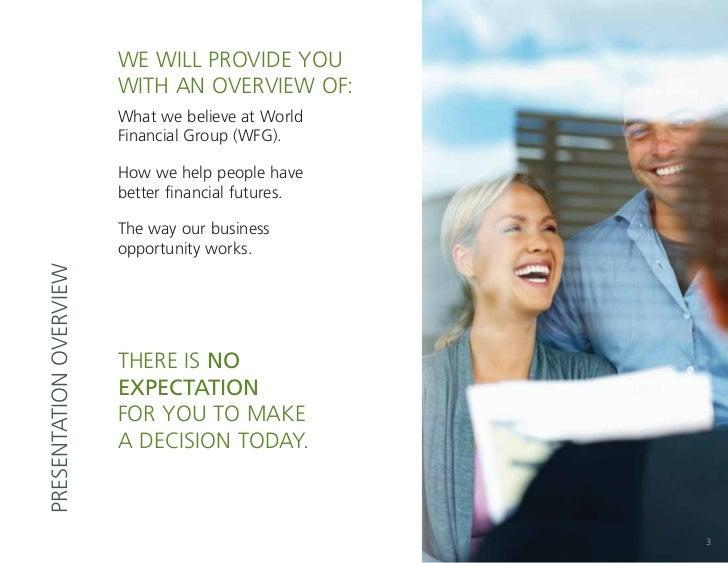 World financial group business presentation