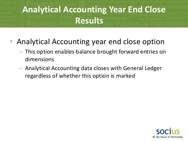 Accounting Analytical Procedures