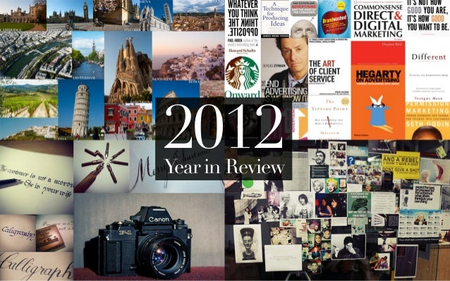 2012Year in Review