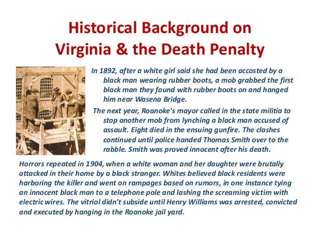 history of death penalty in the