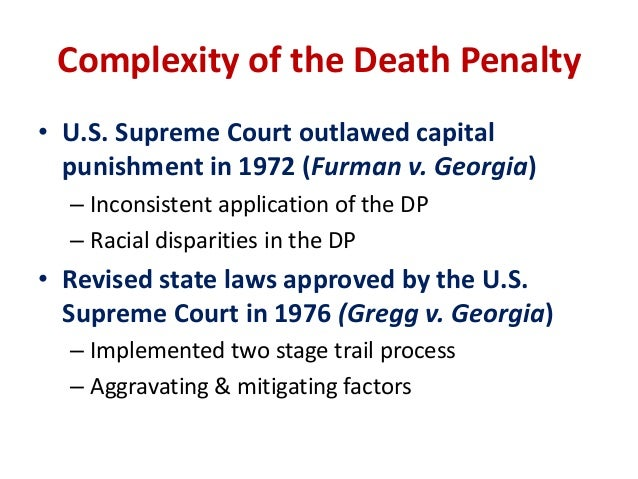 the significant role of race in determining death penalty sentences Hillary clinton meets with families of black clinton calls for limiting death penalty race still plays a significant role in determining who gets.