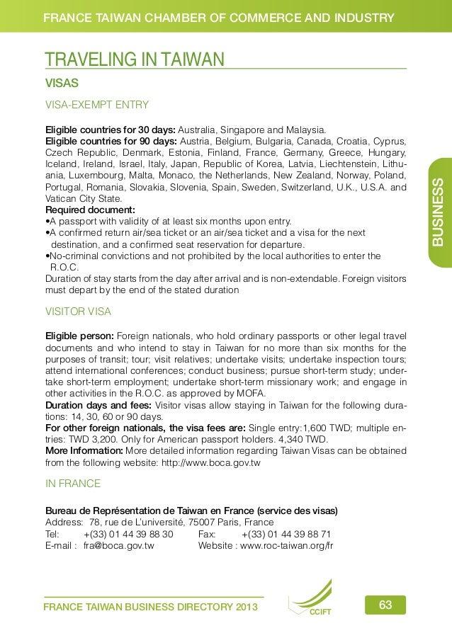 2013 cciftbd - Bureau de representation de taipei en france ...