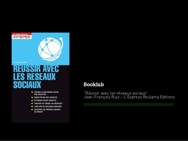 """Booklub                                                      """"Réussir avec les réseaux sociaux""""                           ..."""