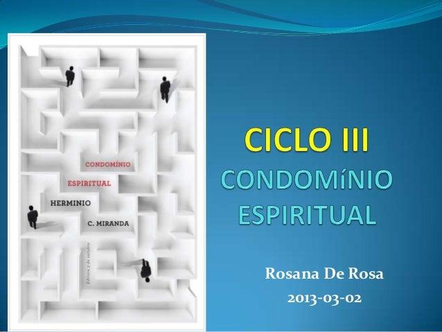 Rosana De Rosa  2013-03-02