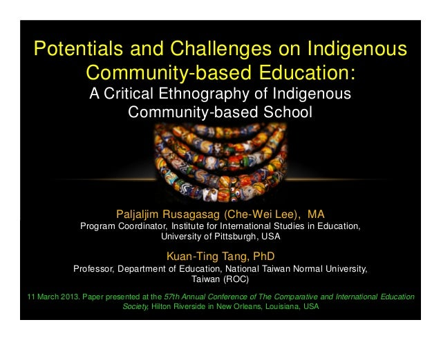 Paljaljim Rusagasag (Che-Wei Lee), MA Program Coordinator, Institute for International Studies in Education, University of...