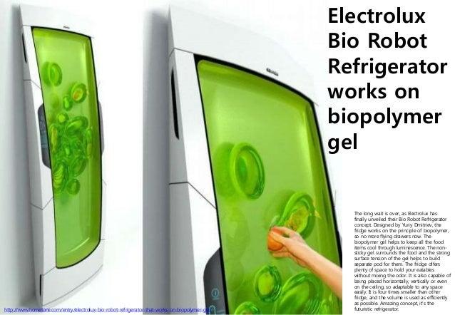 Flexible display ux for Bio robot fridge cost