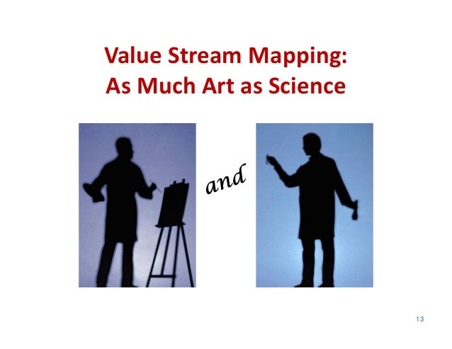 Value Stream Mapping:As Much Art as Science                         13