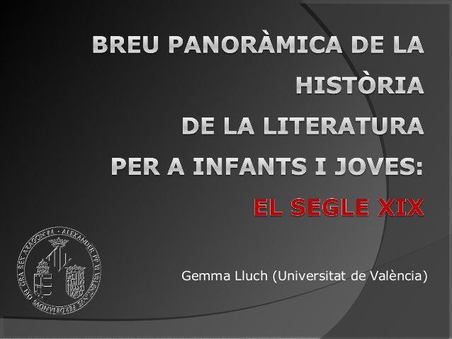 Gemma Lluch (Universitat de València)