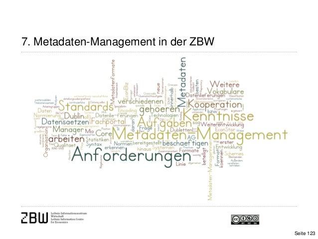 7. Metadaten-Management in der ZBWSeite 123