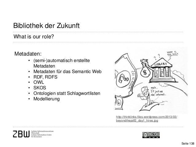 What is our role?Bibliothek der Zukunfthttp://thinklinks.files.wordpress.com/2013/03/beyondthepdf2_day1_hires.jpgMetadaten...