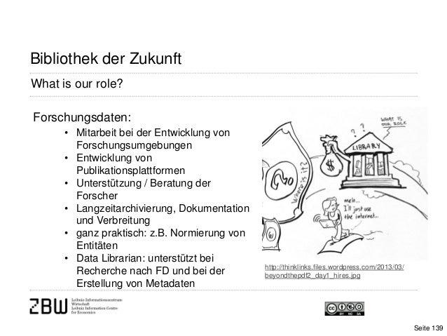What is our role?Bibliothek der Zukunfthttp://thinklinks.files.wordpress.com/2013/03/beyondthepdf2_day1_hires.jpgForschung...