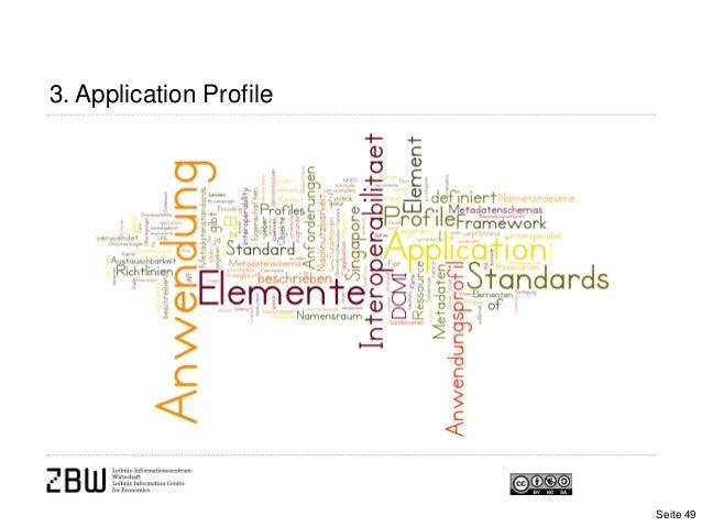 3. Application ProfileSeite 49