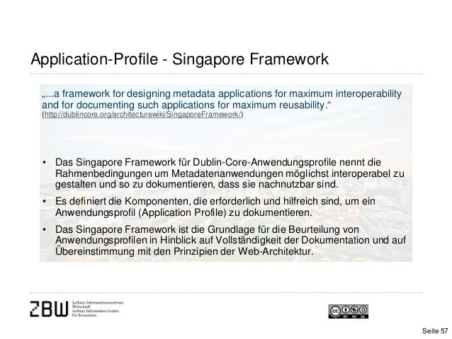 "Application-Profile - Singapore Framework""...a framework for designing metadata applications for maximum interoperabilitya..."