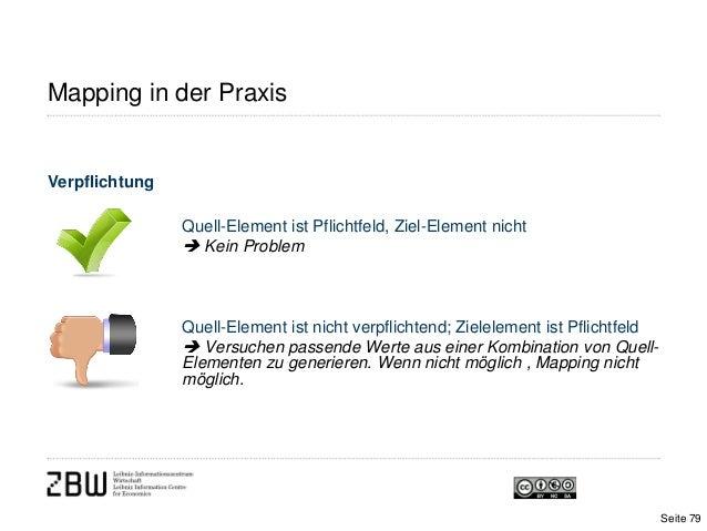 Mapping in der PraxisVerpflichtungQuell-Element ist Pflichtfeld, Ziel-Element nicht Kein ProblemQuell-Element ist nicht v...