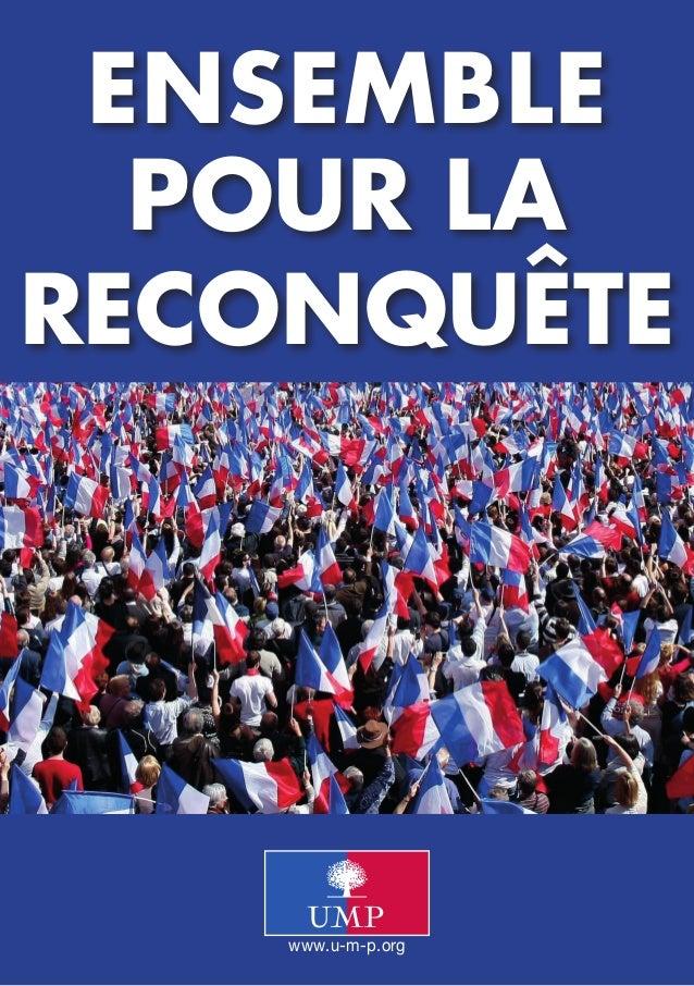 www.u-m-p.orgEnsemblepour lareconquête