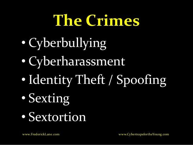 Spoofing identity theft