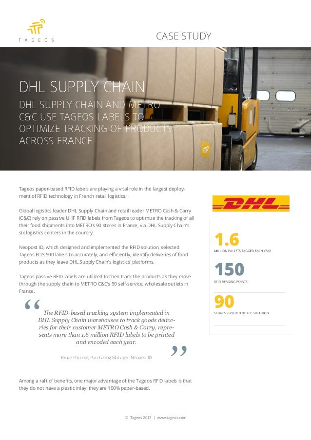 case study of dhl international Dhl gave customers the ability to exchange, manage, and troubleshoot business transactions in real time, such as air waybill number, reference and purchase order number or item description, under secure and controlled access.