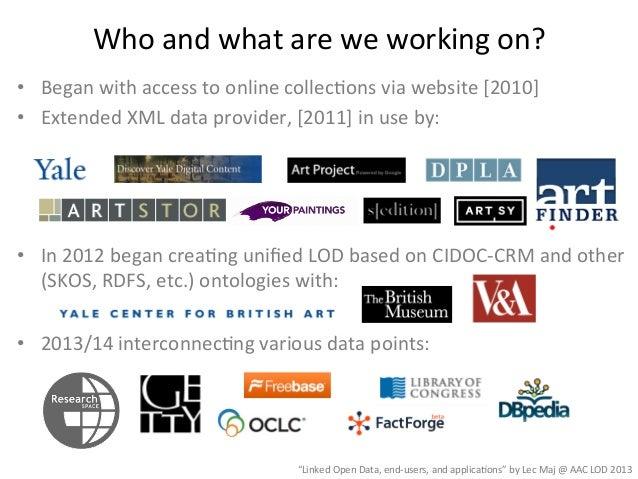 2013 04-29 american art collaborative lod meeting - washington dc - web Slide 3