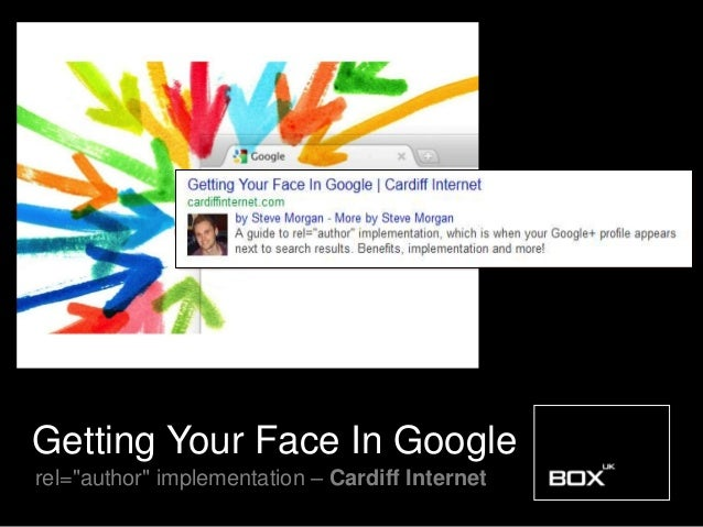 """Getting Your Face In Googlerel=""""author"""" implementation – Cardiff Internet"""