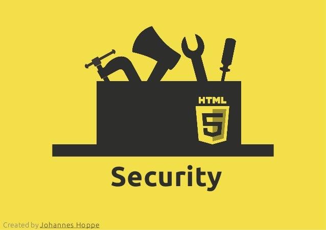 SecurityCreated by Johannes Hoppe