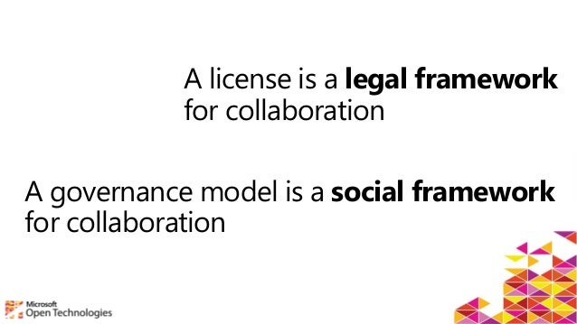 Open Source Governance Models