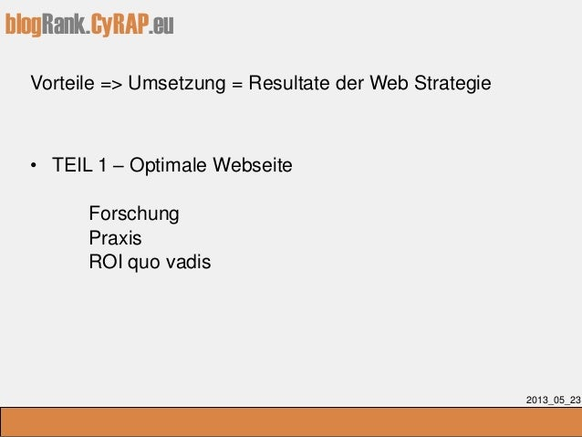 CyTRAP Ratgeber - Erfolgreiches Personal Marketing Slide 3