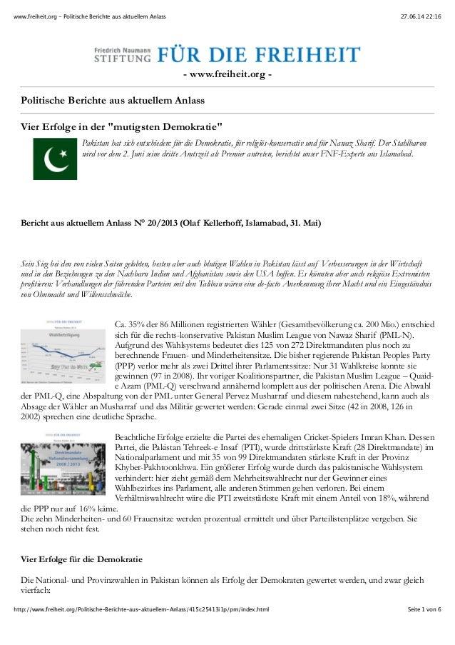 27.06.14 22:16www.freiheit.org - Politische Berichte aus aktuellem Anlass Seite 1 von 6http://www.freiheit.org/Politische-...
