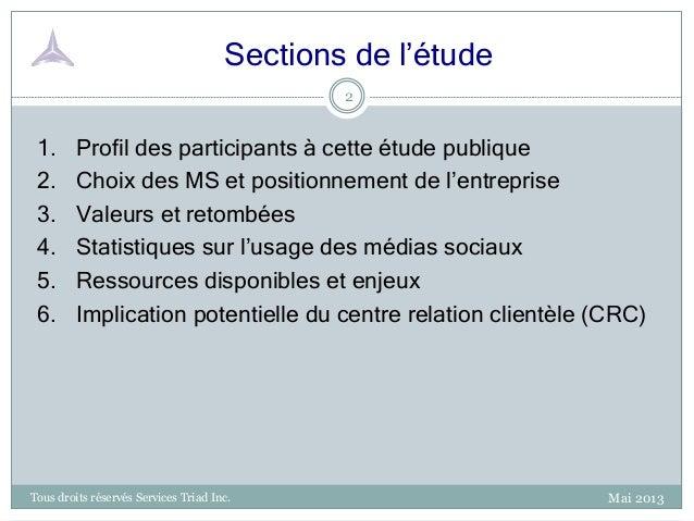 2013 05 - SOCAP - Étude de balisage Médias Sociaux Slide 2